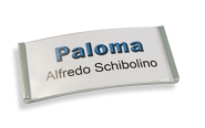 Paloma Win Metall-Optik chrom galvanisiert, 30mm hoch