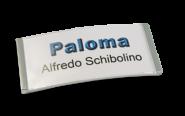 Paloma Win Metall-Optik chrom galvanisiert, 30mm hoch