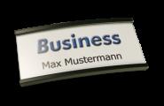 Namensschilder Business anthrazit mit Magnet magForte