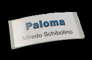Paloma Win, Kunststoff hellgrau, 34mm hoch
