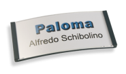 Paloma Win, Kunststoff anthrazit, 30mm hoch