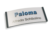 Paloma Win, Kunststoff anthrazit, 34mm hoch