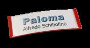 Paloma Win, Kunststoff Rot, 22mm hoch