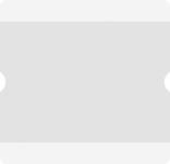 Beschriftungstasche WT-5118, PVC, Weiß, A4 offen, 10 Stück/VE
