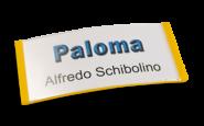 Paloma Win, Kunststoff Gelb, 34mm hoch