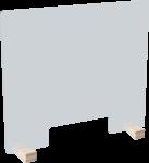 Infektionsschutzscheibe, Nies- und Hustensch., mit Aussp., Acrylglas, 800x700 mm
