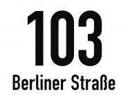 Hausnummernschild mit Straßenangabe, weiß, Alu, 200x150 mm