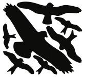 Vogelschutz-Set, Folie, 320x290 mm