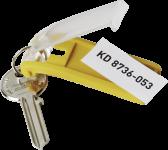 KEY CLIP - Schlüsselanhänger, Kunststoff, 6 Stück/Set