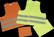 Warnweste XL neongelb Reflexstreifen DIN EN ISO 20471 inkl. Aufbewahrungstasche