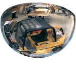 180°-Halbkuppelspiegel, Acrylglas, 1/2 Ø 80 cm