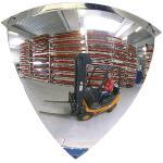 90°-Viertelkuppelspiegel, Acrylglas, 1/4 Ø 100 cm