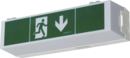 LED-Notleuchte C-LUX Standard, Betriebsdauer 3 oder 8 Stunden