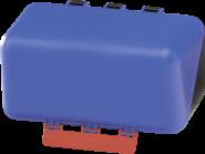 SecuBox Mini blau, ohne Inhalt, Kunststoff, 236x120x120 mm