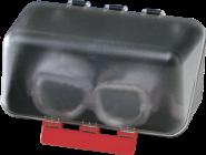 SecuBox Mini transparent, ohne Inhalt, Kunststoff, 236x120x120 mm