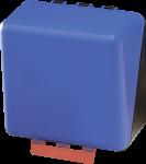 SecuBox Midi blau, ohne Inhalt, Kunststoff, 236x225x125 mm