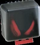 SecuBox Midi transparent, ohne Inhalt, Kunststoff, 236x225x125 mm