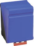 SecuBox Maxi blau, ohne Inhalt, Kunststoff, 236x315x200 mm