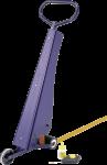 PROline-tape Markierset, Markierungsgerät und 2 Rollen gelb à 75 mm x 33 m