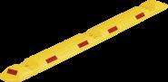 Park-Leitschwelle, Polypropylen, Gelb, 150x50x1170 mm