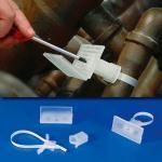 Rohrleitungs-Kennzeichnungsschild Perfekt, Polypropylen, 5x10 cm