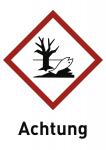 Umweltgefährlich (GHS 09) Achtung, Folie, 148x210 mm