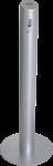 Standascher SMOKER, Alu, Silber, Ø 100 mm, Höhe 1041 mm