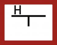 Hinweisschild auf einen Unterflurhydranten (A), Alu, 250x200 mm