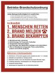 Betriebs-Brandschutzordnung, Kunststoff, 300x400 mm