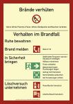 Brandschutzordnung (ohne Handfeuermelder), Teil A (2014), Folie,nachl.,210x297mm