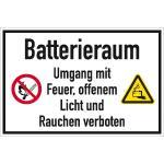 Batterieraum, Folie, 20x30 cm