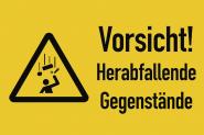 Warnzeichen - Symbol und Text nach Ihren Angaben, Folie, 300x200 mm