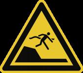 Warnung vor unvermittelter Tiefenänderung in... ISO 20712-1, Alu, 400 mm SL