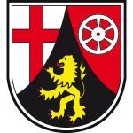 """Wappenzeichen """"Rheinland-Pfalz"""", Alu, 30x26,9 cm"""