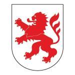 """Wappenzeichen """"Hessen"""", Alu, 30x23,3 cm"""
