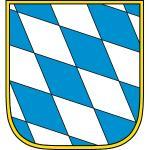 """Wappenzeichen """"Bayern"""", Alu, 30x27,6 cm"""