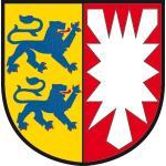 """Wappenzeichen """"Schleswig-Holstein"""", Alu, 30x29,5 cm"""