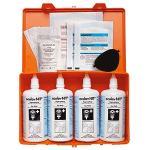 oculav NIT® Box mit 4 x 250 ml Augen-Sofortspülung, Kunststoff, 16x26 cm