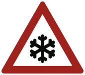 VZ101-51, Schnee- oder Eisglätte, Alu, RA2, 900 mm SL