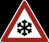 VZ101-51, Schnee- oder Eisglätte, Alu, RA1, 630 mm SL