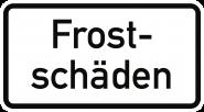 VZ2011, Frostschäden, Alu, RA2, 420x231 mm