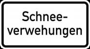 VZ2012, Schneeverwehungen, Alu, RA1, 420x231 mm
