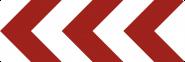 VZ625-11, Richtungstafel in Kurven, linksweisend, Alu, RA2, 1500x500 mm