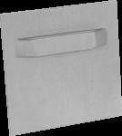 Bildaufhängung selbstklebend, Blech, 70 x 70 mm, Tragkraft 3 kg