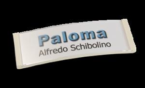Paloma Win, Kunststoff weiß, 22mm hoch
