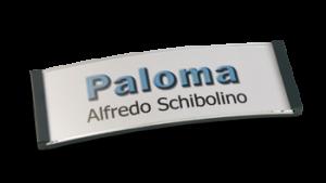 Paloma Win, Kunststoff anthrazit, 22mm hoch