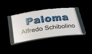 Paloma Win, Kunststoff anthrazit, 30mm hoch