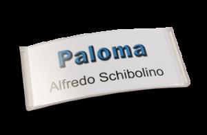 Paloma Win, Kunststoff transluzent klar, 34mm hoch