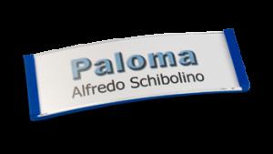 Paloma Win, Kunststoff Blau, 22mm hoch