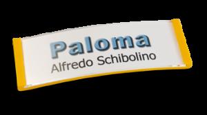 Paloma Win, Kunststoff Gelb, 20mm hoch